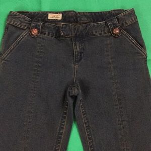 Free People Sz. 31 jeans flare bell bottom style